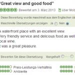 Review of my experience in Restaurant La Pentola in Hermanus (ZA)